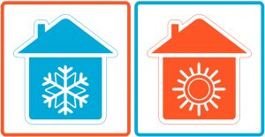 hot-cold-house-icons